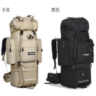 【May Shop】戶外登山包 85L支架徒步野營旅行雙肩背包