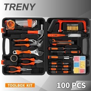 【TRENY】100件 工具組(工具箱)