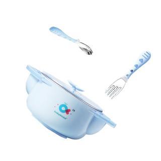 【babyhood】不銹鋼保溫兒童餐具3件組