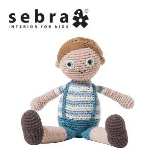 【sebra】男孩鉤針娃娃