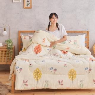 【DUYAN 竹漾】法式超厚雙層羊羔絨暖暖被-古典棕