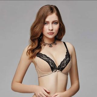 【La Felino 羅絲美】魚雁傳情無縫泡棉款B-E罩杯內衣(裸膚)