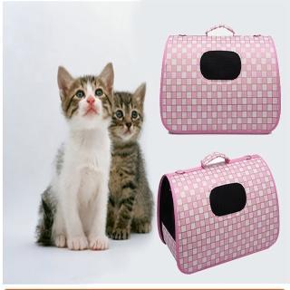 【媽媽咪呀】輕巧透氣寵物提籠寵物外出包手提肩背兩用_大