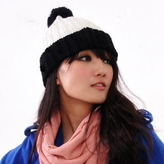 【Lady c.c.】雙色歡慶可愛造型毛帽(黑)