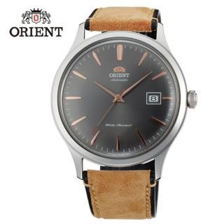 【ORIENT 東方錶】DATEⅡ機械錶 FAC08003A 灰色 - 42mm(FAC08003A)
