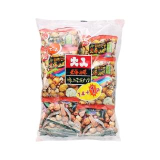【天六】二色綜合14+1袋入大包裝豆果子(365g)