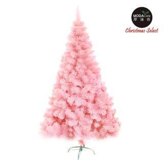 【摩達客】台製豪華型10尺/10呎 300cm 夢幻粉紅色聖誕樹 裸樹(不含飾品 不含燈)