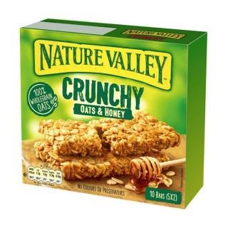 【NATURE VALLEY】天然谷 纖穀派 蜂蜜燕麥(21gx2片x5條/盒)