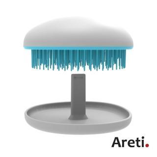 【日本Areti】攜帶型柔順按摩梳