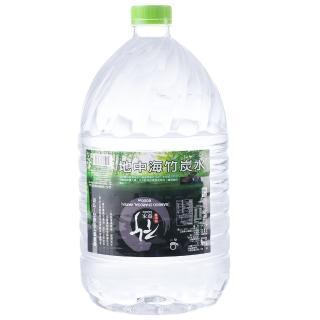 【心一】飲水機專用地中海竹炭水6000mlx4箱(共8入)