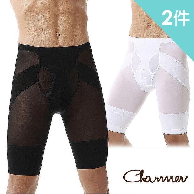 【Charmen】鍺鈦銀超薄透氣提臀五分褲