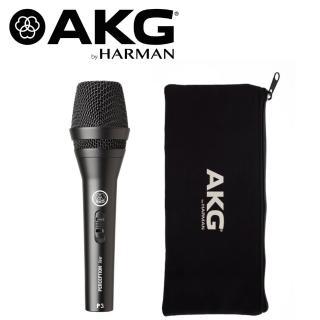 【AKG】P3S 動圈麥克風 適用伴唱/吉他/管樂(公司貨原廠保固)