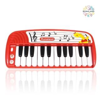 【RUNALAND 路納星球】寶寶迷你鋼琴(附贈遊戲書+樂譜)