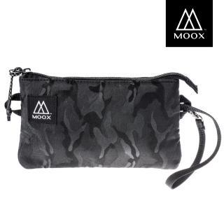 【MOOX 穆克斯】O11AB+ 加大版經典收納包(迷彩黑)