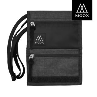 【MOOX 穆克斯】O9SBL 輕量旅行收納包(石墨黑)