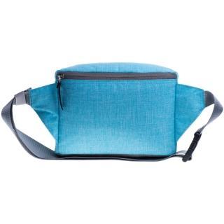 【MOOX 穆克斯】A5BG 極簡時尚單肩斜背包/腰包(湛水藍)