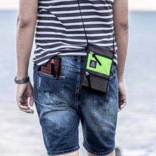 【MOOX 穆克斯】O9GB 輕量旅行收納包(螢光黃灰)