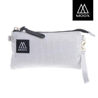 【MOOX 穆克斯】O11G  經典萬用收納包(雅痞灰)