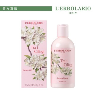【L'ERBOLARIO 蕾莉歐】櫻花樹保濕沐浴膠 250ml