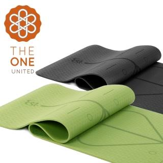 【The One】環保TPE正位線瑜珈墊(6mm)