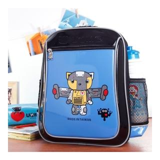 ~UnMe~機器人輕量後背書包 寶藍色