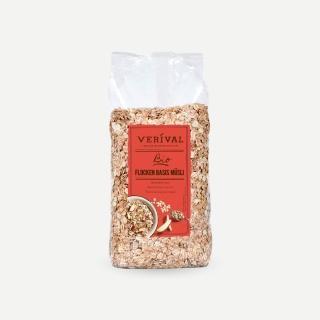 【奧地利Verival 費里歐】有機多種穀物亞麻籽燕麥片 500g