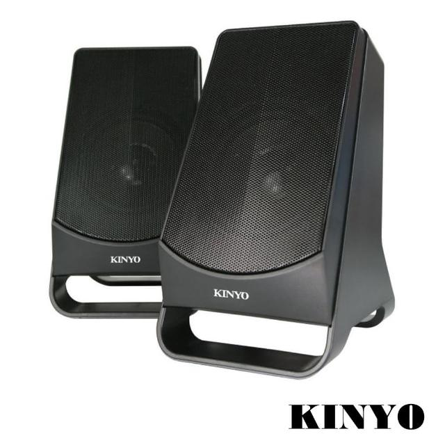 【KINYO】USB供電2.0多媒體音箱(US-213)