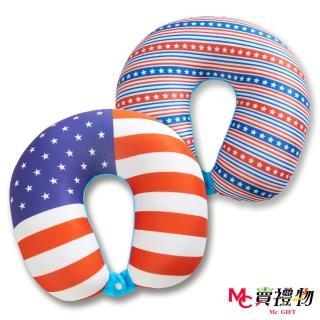 【Mc賣禮物】MIT超微粒科技U型頸枕-美式精神(2款可選)