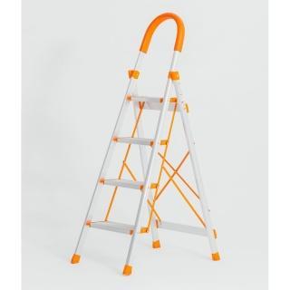 【 藏室】加厚鋁合金家用四層折疊梯(居家登高 )