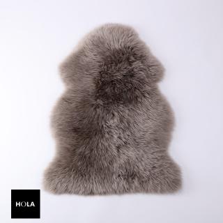 【HOLA】經典單張羊毛皮55X85拿鐵