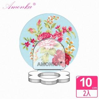 【AMONKA】3R神奇無痕掛勾花瓣造型乳液罐(凡爾賽玫瑰-藍2入)