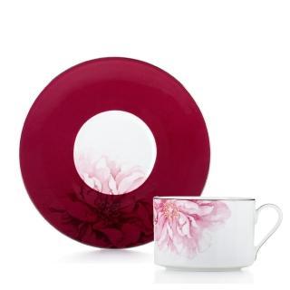 【Royal Duke】骨瓷咖啡花茶對杯-約瑟芬250ml(二杯二碟)