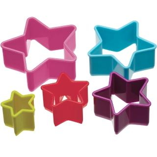 【KitchenCraft】餅乾切模5件(星星)