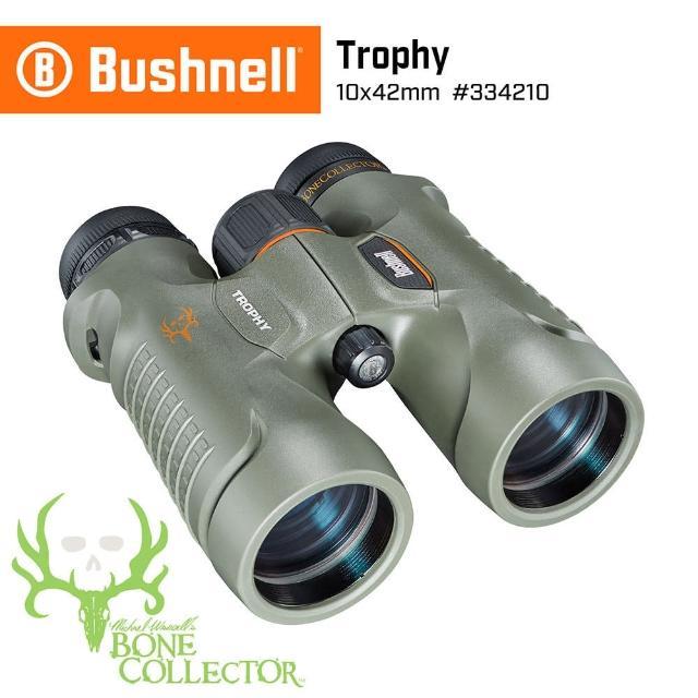 【Bushnell】Trophy 新錦標系列 10x42mm 賞鳥型防水雙筒望遠鏡 Bone Collector 獵人特仕版 334210(公司貨)