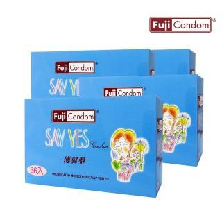 【不二乳膠】FUJICONDOM芙莉詩兩情相悅(36片X4盒)
