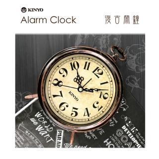 【KINYO】懷舊風大型靜音掃描鬧鐘(TB-703)