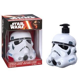 【STAR WARS 星際大戰】STORMTROOPER 帝國風暴兵 3D珍藏限量版公仔 二合一沐浴洗髮精(500ml)