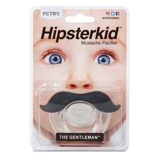 【美國Hipsterkid】紳士鬍子嬰兒奶嘴(安全無毒不含雙酚A)