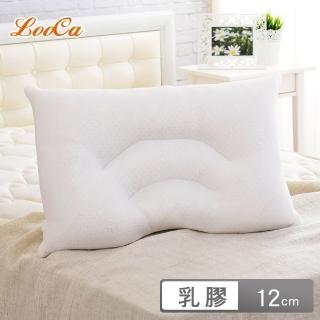 【LooCa】舒鼾花漾透氣釋壓記憶乳膠枕(1入)