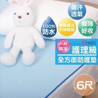 【Embrace 英柏絲】嬰兒 防尿墊 全方位防水墊 加大6尺 保潔墊(180x186cm)