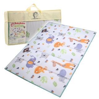 【BabyBabe】環保XPE摺疊墊(動物樂園)