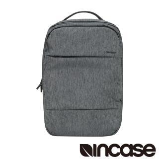 【Incase】City Compact Backpack 15吋 城市輕巧筆電後背包(麻灰)