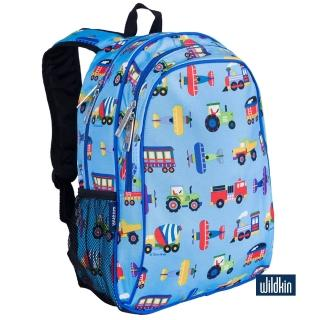 【Wildkin】兒童後背包/雙層式便利書包(67079交通工具大集合)