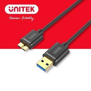 【UNITEK】USB 3.0資料傳輸線2M黑色 Y-C463GBK(USB)