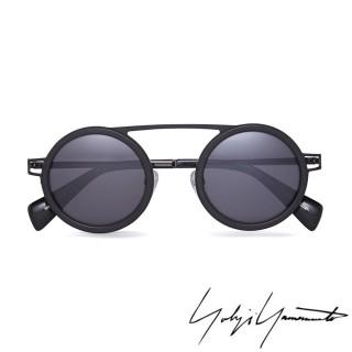 【Yohji Yamamoto 山本耀司】Yohji Yamamoto 時尚前衛太陽眼鏡(藍-YY5015-914)