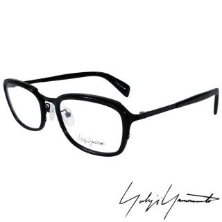 【Y-3山本耀司】Yohji Yamamoto立體方框時尚光學眼鏡(黑-YY1022-019)