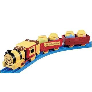 【Disney x PLARAIL】維尼森林蒸氣機關車(男孩 鐵道火車)
