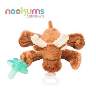 【nookums】寶寶可愛造型安撫奶嘴/玩偶-小麋鹿