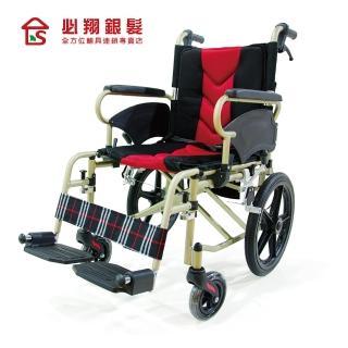 【必翔銀髮樂活館】輕便移位型照護輪椅PH-164-2(未滅菌)
