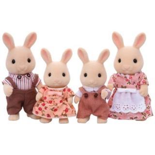【森林家族】牛奶兔家庭組(Sylvanian Family)